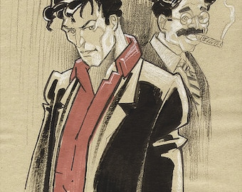 Dylan Dog 10 loose prints dedicated to Dylan dog