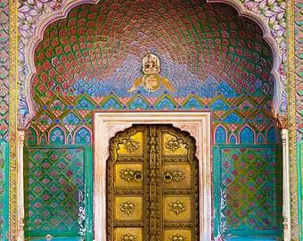 The Rose Gate; Jaipur, India