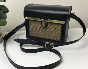 60's Camera back with Jute Panel