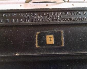 Graflex Film Holder Type 5 for Large Format 4X5 Wooden Film Holders 8 each