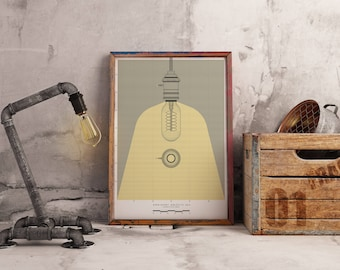 Ordinary Objects 002 | Contemporary Stylised Illustration | Limited Edition Print | Architectural Print - Fine Art Prints