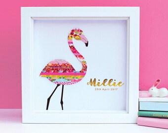 Personalised Flamingo Art