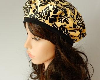 Velvet hat Women beret hat Women summer-fall hat Women beret hat Tam beret women Spring-summer hat stretch S-L