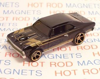 Hot Rod Magnet - 1968 Chevrolet Chevy Nova SS : Hot Rod, Man Cave, Refrigerator, Tool Box, Magnet