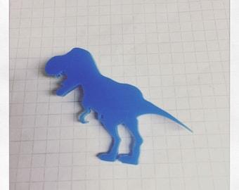 T-Rex brooch