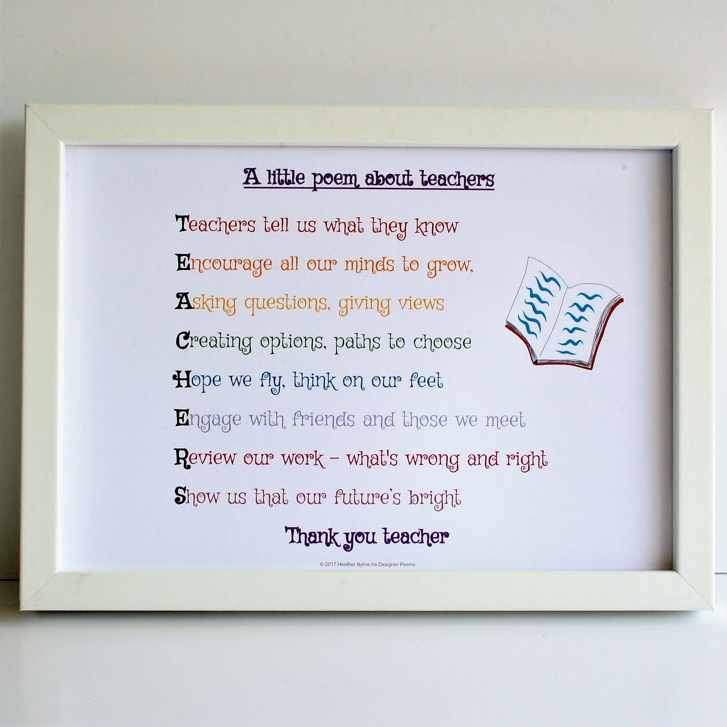 Thank You Teacher Poems | www.pixshark.com - Images ...