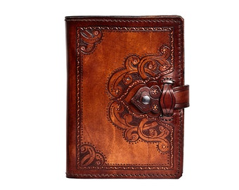 Agenda leather, book cover, agenda Lvaca Pie, diary engraved, dietary skin, holster leather, Cubrelibro skin, Cubrelibro leather Engraving