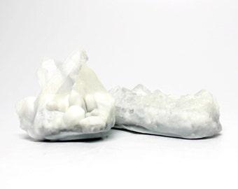 Quartz Crystal Soap Set - Choose your Scent