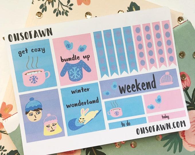 Winter Wonderland Weekly Kit