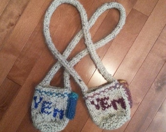 Beer Pouch Necklace