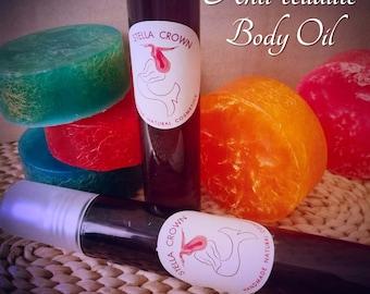 Anti-cellulite Body Oil | λάδι σώματος κατά της κυτταρίτιδας | Seaweed and Ivy Body Oil | organic skincare | Vegan Cellulite Treatment |