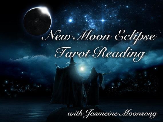 New Moon Eclipse Tarot Reading