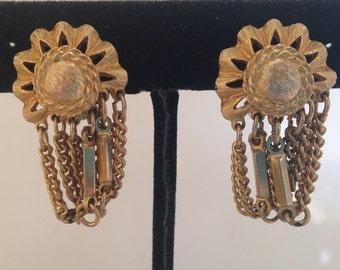 Kramer Gold Chain Earrings