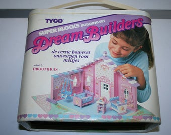 Tyco Dream Builders house nursery playset 80's 90's toys