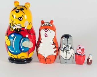 Winnie the Pooh Russian Matryoshka Doll