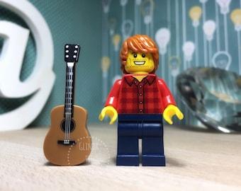Ed Sheeran Lego® Music Lover Ed Sheeran Gift Custom Lego Keyring Keychain Ed Sheeran Perfect Ed Sheeran Lyrics Lego Minifig Album Lego Fan