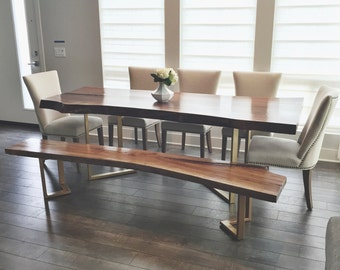 Custom Live Edge Dining Table Quote Pictures