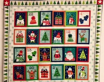Children's Fabric Advent Calendar