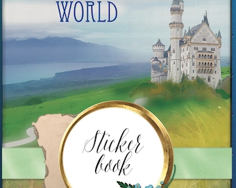 Enchanted World Stickerbook for the Digital Planner with GoodNotes app