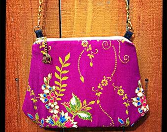 The Purple Bloom Crossbody Bag