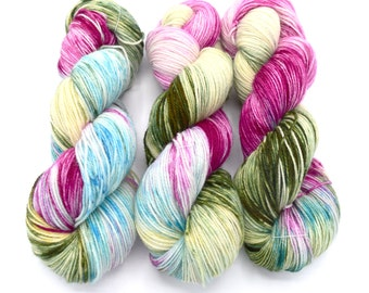 Blanche Variegated - Hand Dyed Yarn Made to Order