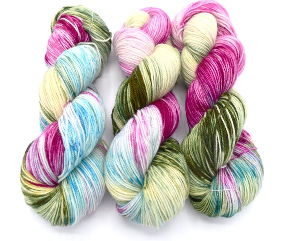 Things I loved in March - Blanche by Dyeabolical Yarns