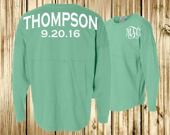 Bridal Party Spirit Shirt~  Personalized Bridesmaid Jersey ~ Bride Jersey (BR020) B32