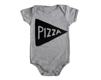 Baby Bodysuit Pizza Gift, children, baby girl clothes, new dad gift, baby gift, baby onesie funny, baby shower gift new mom gift for her
