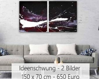 Abstract Image B/w