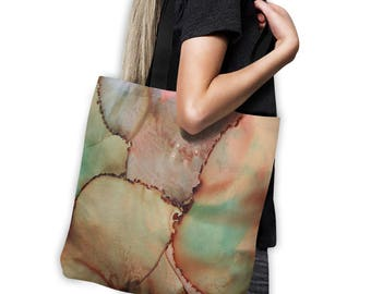 Abstract Art Tote Bag neutral tote bag art beach bag original art tote artist tote abstract computer bag gym bag grocery bag school bag art