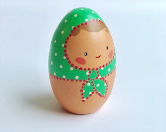 Egg Doll - Green (Small)