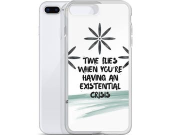 Existential Flowers iPhone Case
