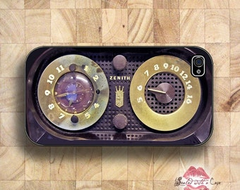 Vintage Zenith Radio - iPhone 4/4S 5/5S/5C/6/6+ and now iPhone 7 cases!! And Samsung Galaxy S3/S4/S5/S6/S7
