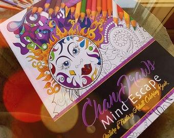 40 colouring pages- Digital download- 1 PDF- Print & Color