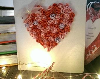 Greeting card, Valentine's Day card, Love card, Boy friend card, Husband card, Anniversary card, Birthday card for boy friend, husband, him