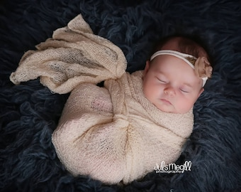Linen RTS Stretchy Soft Newborn Knit Wraps 80 colors to choose from, photography prop newborn prop wrap