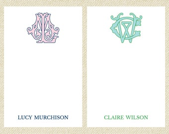 Two Letter Monogram Notepad