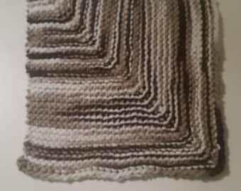 Squared washcloth