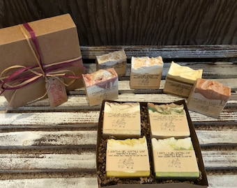Any 4 goat milk soaps gift pack