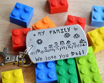 My family keyring