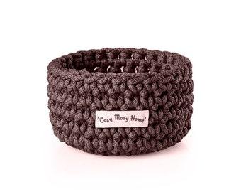 Home decoration - Dinning room basket - Crochet basket - Storage box - Bathroom basket - Housewares basket - Toiletry basket - Gift basket