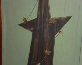 LARGE Primitive Star Wall Hanging