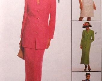 Coatdress, Skirt, and Jacket Sewing Pattern UNCUT McCalls 2083 Sizes 16-20