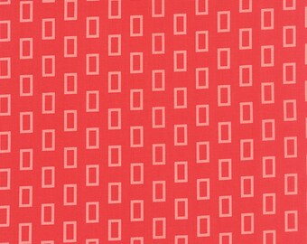 Red Frames fabric from the Simply Colorful collection by V and Co for Moda Fabrics