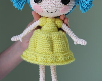 PATTERN: Jelly Crochet Amigurumi Doll