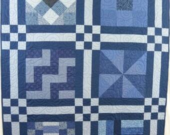 Blue Sampler Quilt