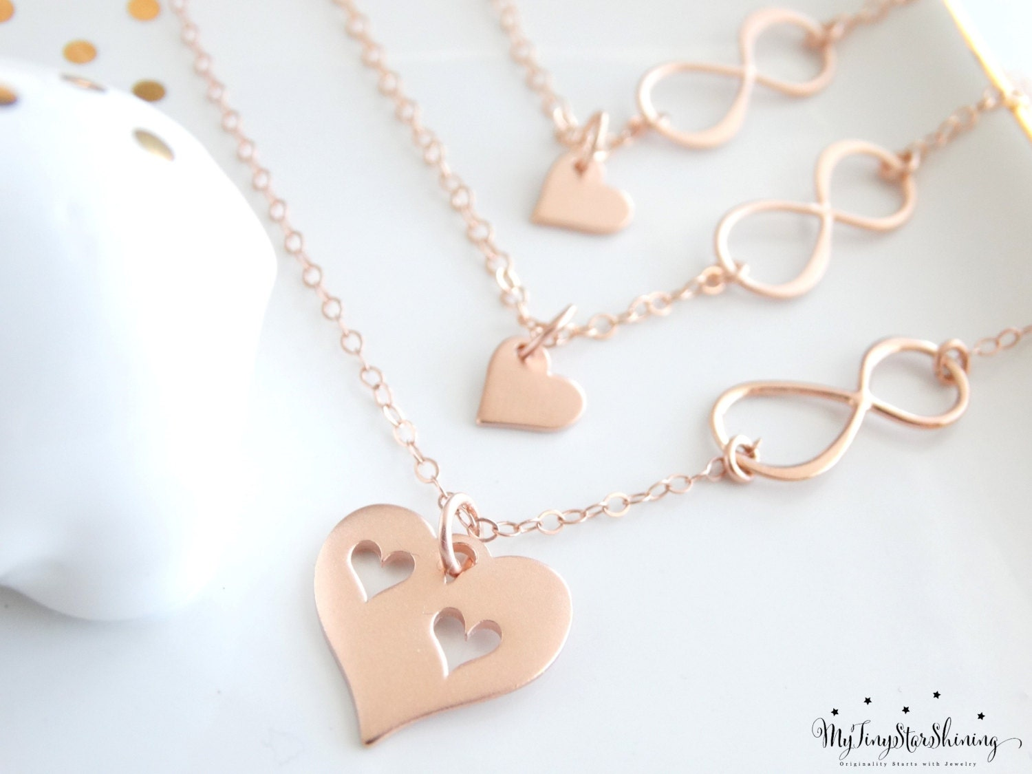 infinity daughter il listing necklaces necklace set mother fullxfull