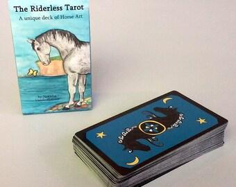 The Riderless Tarot - Unique Deck of Horse art by Nakisha