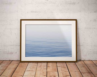 ocean print , blue water print , ocean waves print , nautical decor , beach wall art , beach photography , printable poster