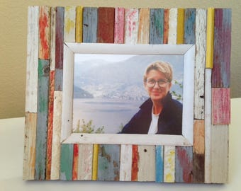 """Rustic Picture Frame: """"Como"""" from RusticAndRawFrames // Picture Frames, Rustic Picture Frames, Rustic Frames, Picture Frame, Frames"""